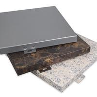 石纹铝单板墙面装潢质料厂家直销