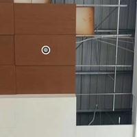 廣汽4S店展廳鋁單板吊頂-木紋勾搭天花
