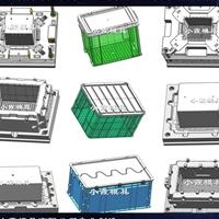 塑料收纳盒模具