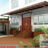 耐力板遮阳棚雨棚铝合金阳台棚露台遮阳棚