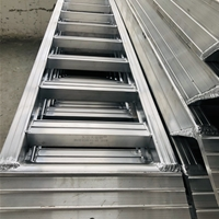 3.2米小松挖掘機專用鋁合金爬梯