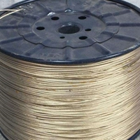 彩鋼房專用塑封鋼絲繩保溫材料