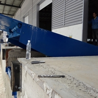 8噸登車橋 石嘴山液壓裝卸過橋安裝