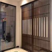 木紋鋁窗花定制廠家 工程鋁窗花