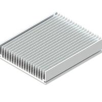 东浩 普通型材散热器 散热器铝型材 可定制