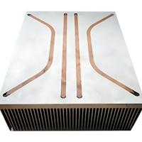 東浩 插片式熱管散熱器 熱管散熱器定制