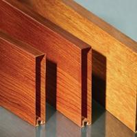 鋁型材方通價格 廣州木紋鋁通廠家
