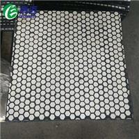陶瓷耐磨复合板 抗冲击陶瓷橡胶复合板