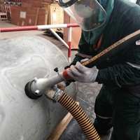 圓管除銹噴砂機