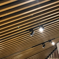 3080mmU型鋁方通餐廳吊頂裝飾