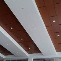 广汽本田4S店木纹铝单板-白色铝单板天花