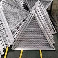 拉网铝单板 网格渔网铝天花吊顶