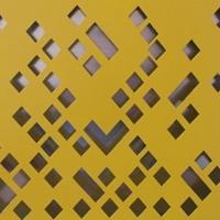 不规则冲孔铝单板-艺术图案冲孔铝板