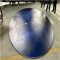 外墙铝单板镂空雕刻定制-来图打样免样品费