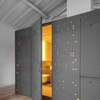 外墻圖案沖孔鋁板-造型穿孔透光鋁單板