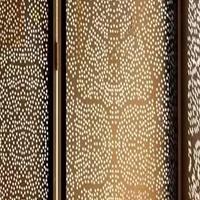金橡木热转印木纹镂空铝板 铝合金木纹板
