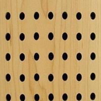 磨砂黄橡木木纹镂空铝板 雕刻镂空铝单板
