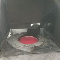 废铝熔化炉 铝边角料熔炼炉