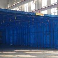 环保移动伸缩喷漆房10米以上方案及报价