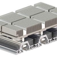 可控硅型材散热器 可控硅铝型材散热器定制