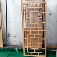 浙江古城復古裝飾隔斷鋁屏風