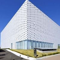 校区大楼装修装饰雕花铝单板