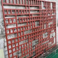 福建福州古典鏤空花格鋁屏風