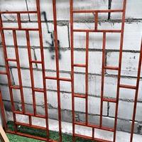 河北售楼部石门院子仿古铝屏风