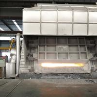 蓄热式固定斜炉门熔炼炉