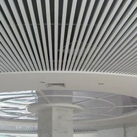 鋁方通生產廠家定做u型鋁方通吊頂