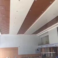 广汽本田4S店仿木纹金属铝单板天花