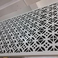 4厘厚闪银色烤漆雕花铝单板