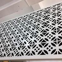 4mm深灰色氟碳漆雕花铝单板