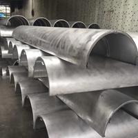 室内弧形柱子铝单板-包柱雕花铝单板厂家