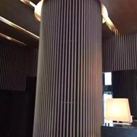 酒店木纹弧形铝方通-造型铝方通厂