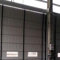 廠房外抗風大型堆積門
