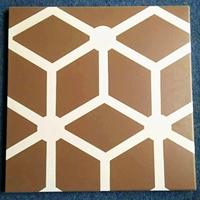 展厅立柱彩绘铝单板-3D冲孔山水画单板