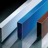 鋁方通加工生產廠家 定制鋁方通規格 顏色