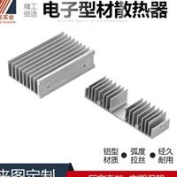 智高ODM加工AL6063电镀铝合金电子散热器