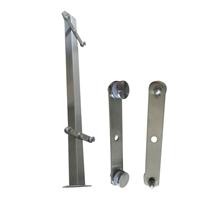 304不锈钢楼梯护栏立柱生产厂家