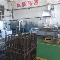 中频硬质合金颗粒截齿焊接热处理生产线