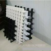 黑白网格铝格栅 吊顶材料 铝格栅天花价格