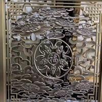 广交会中西式铝窗花 艺术雕刻窗花 屏风