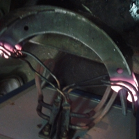 刹车蹄淬火设备