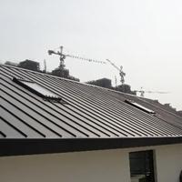 長期供應0.9厚深灰色YX65-430鋁鎂錳屋面板