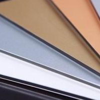 灰镜面阻燃铝塑板生产定做防火铝塑板