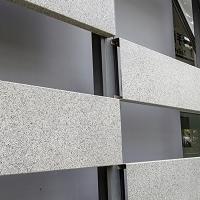 生港建材仿石纹铝板打造出独特的装修风格
