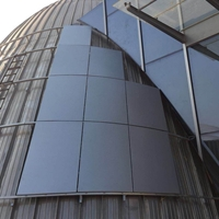 淺談生港建材外立面幕墻鋁板的應用