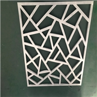 仿古工程外墻幕墻裝飾鋁花格-仿木花格