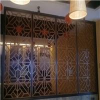 定制打造木紋鋁合金窗花-仿古中式鋁窗花格